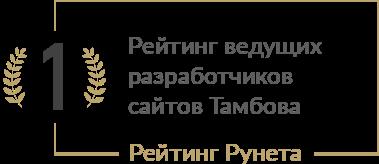 Рейтинг ведущих разработчиков сайтов Тамбова