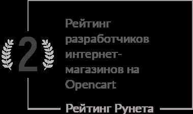 Рейтинг разработчиков, у которых можно заказать недорого разработку и дизайн интернет-магазина на Opencart