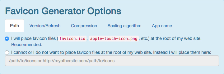adding a favicon to thesis theme How to make a favicon small and cacheable (it's possible to specify a path to store the favicon in the theme add expires headers in apache by adding it.