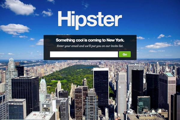 Лендинг для жителей Нью-Йорка