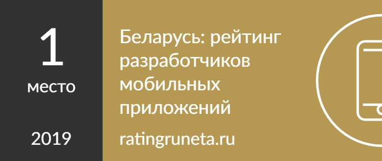 Беларусь: рейтинг разработчиков мобильных приложений