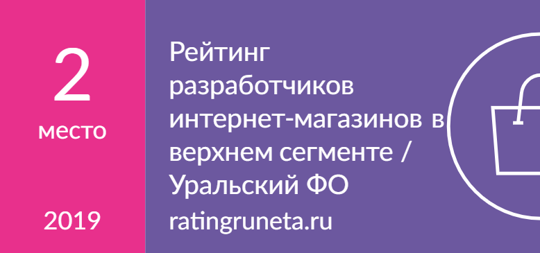 Рейтинг разработчиков интернет-магазинов в верхнем сегменте / Уральский ФО
