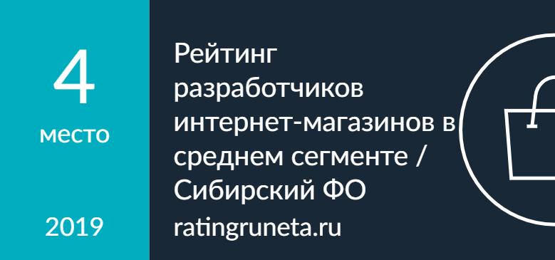 Рейтинг разработчиков интернет-магазинов в среднем сегменте / Сибирский ФО