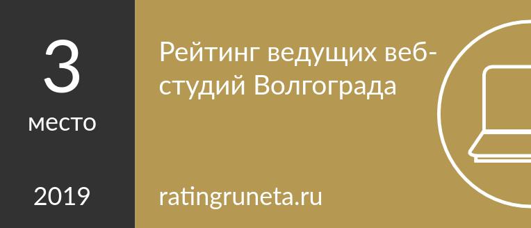 Рейтинг ведущих веб-студий Волгограда