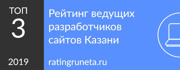 Рейтинг ведущих разработчиков сайтов Казани