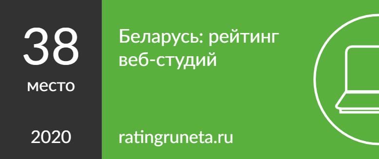 Беларусь: рейтинг веб-студий
