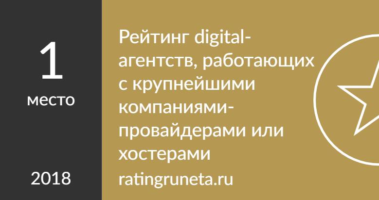Рейтинг digital-агентств, работающих с крупнейшими компаниями-провайдерами или хостерами
