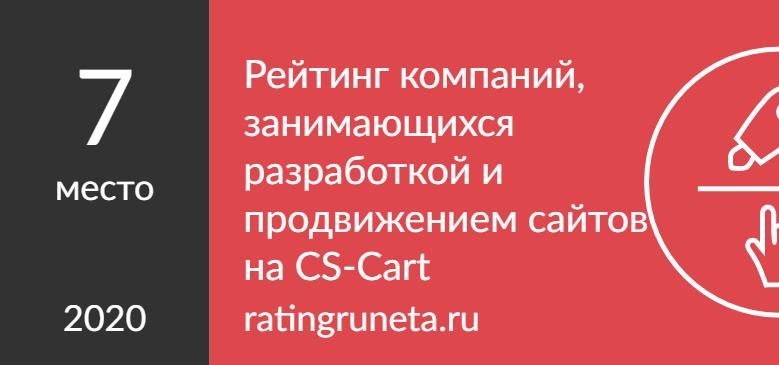 Рейтинг компаний, занимающихся разработкой и продвижением сайтов на CS-Cart