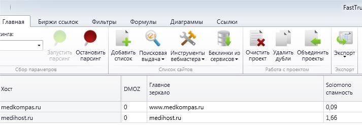 Рис. 12. Проверка каталога на спамность программой Fast Trust