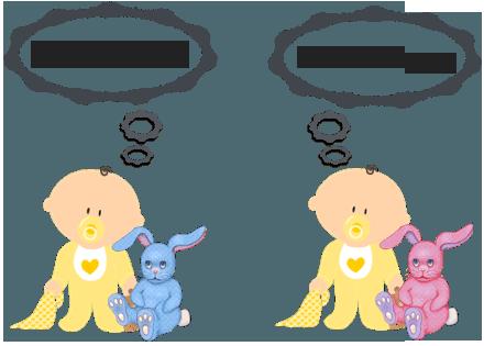 Мальчикам - синие игрушки, девочкам - розовые