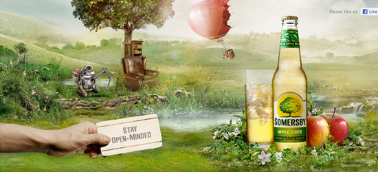 Somersby Cider welcome area