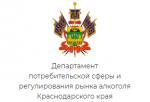 Департамент потребительской сферы Краснодарского края